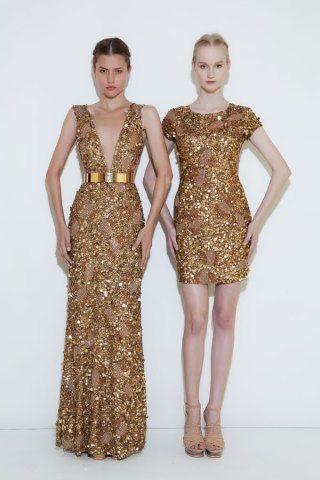 Vestidos de damas de honor para o mês dourado 2
