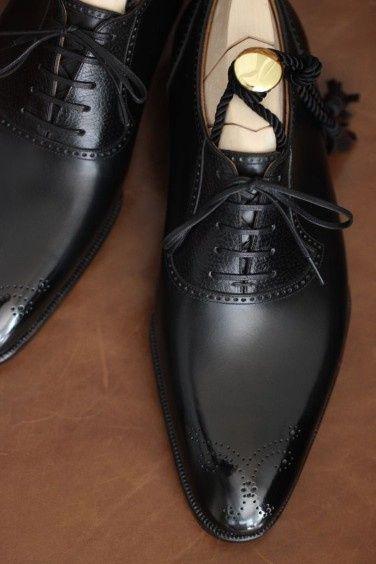 Inspirações para o Mês Preto: Sapatos de Noivo 6
