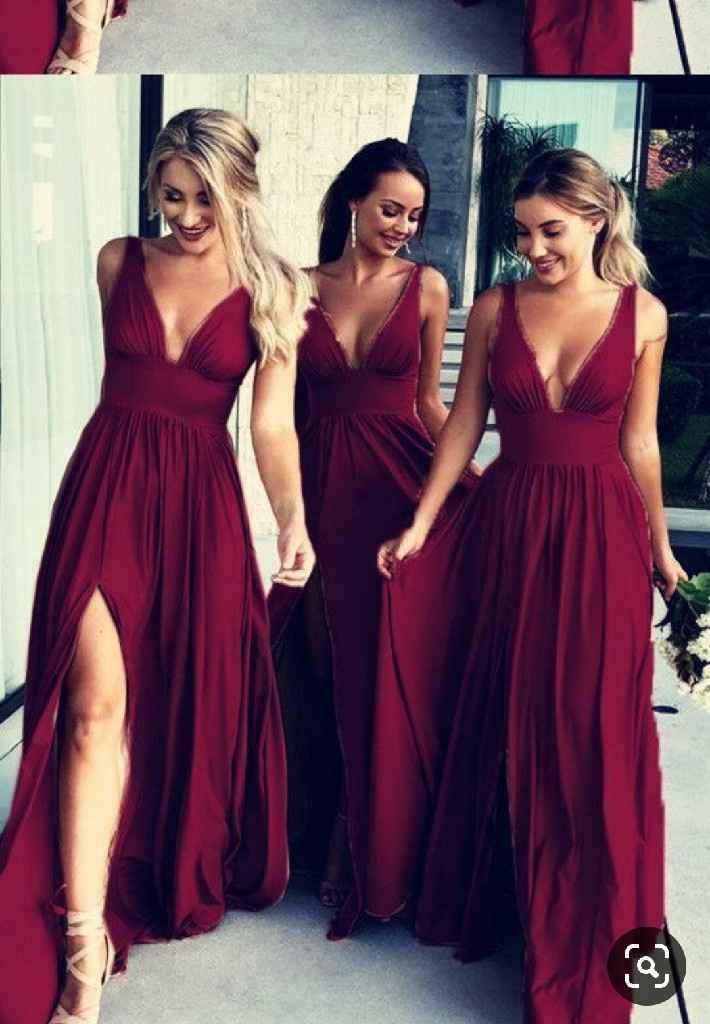 Inspiração vestidos damas de honor - 1