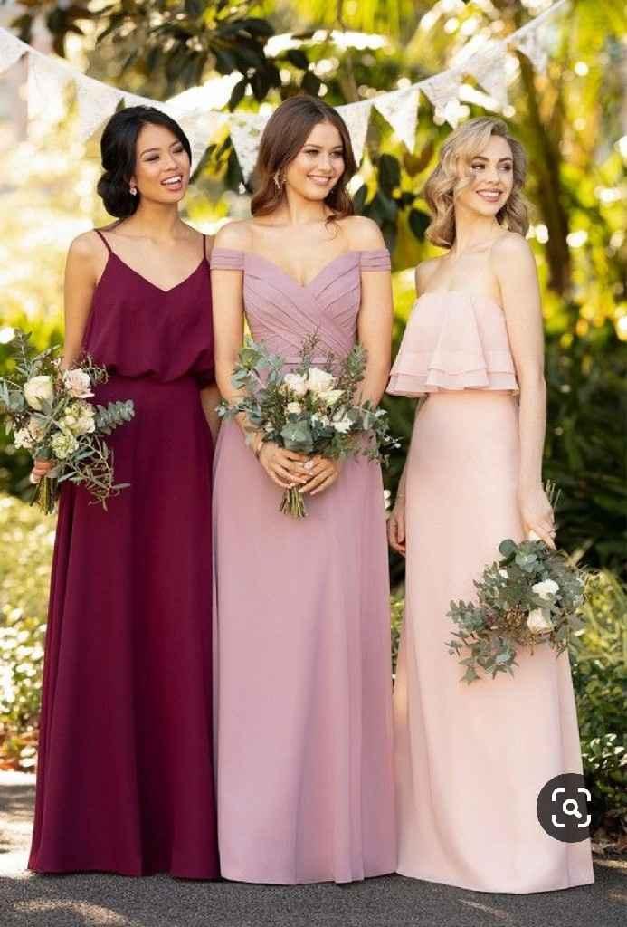 Inspiração vestidos damas de honor - 2