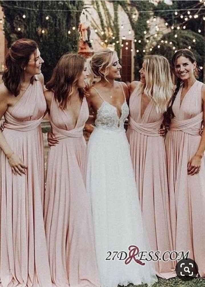 Inspiração vestidos damas de honor - 3