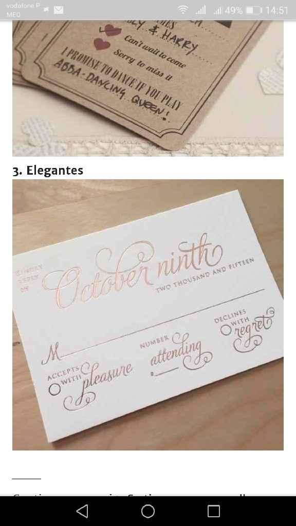 Os meus convites de casamento: Nádia & Hugo - 6
