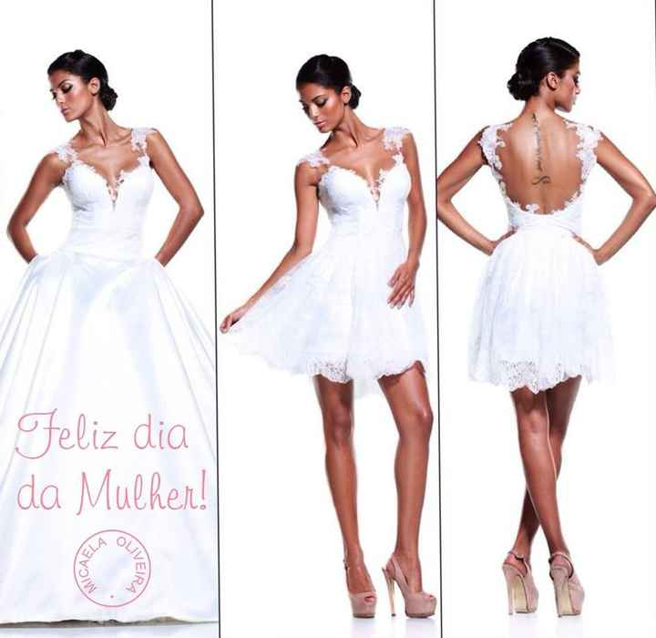 Qual é/foi o detalhe preferido do vosso vestido? - 1
