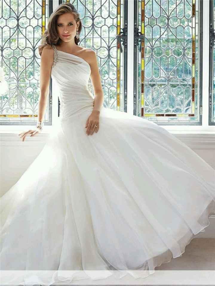 Vestido de noiva - estou muito indecisa... - 2