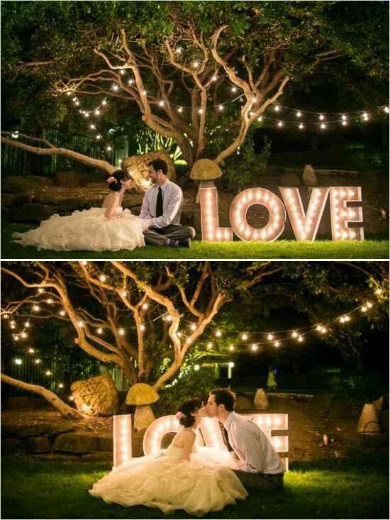 Inspirações: casamentos à noite - 1