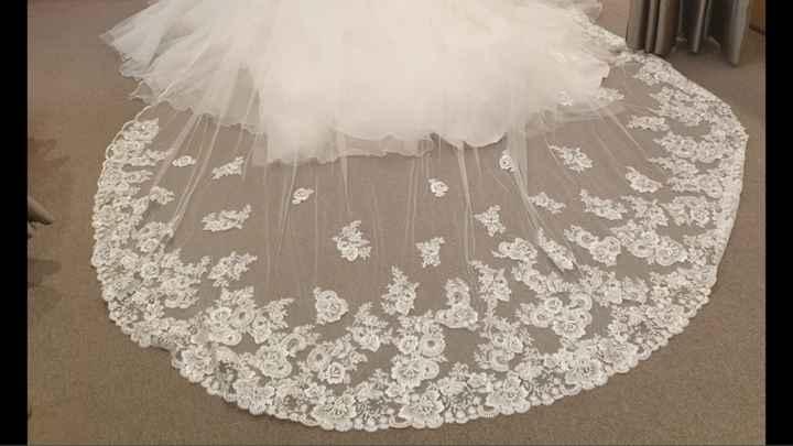 Véu de vestido(pronovias) - 1