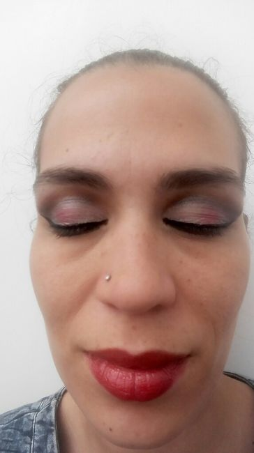 Prova da make up do dia c - 1