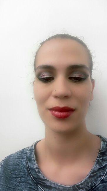 Prova da make up do dia c - 2