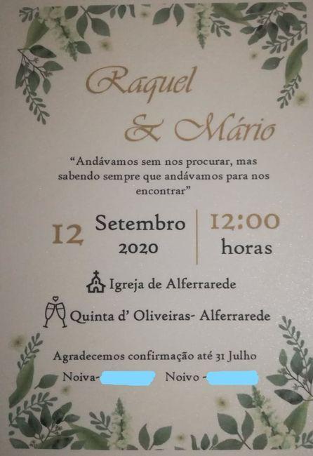 Convites terminados! 3