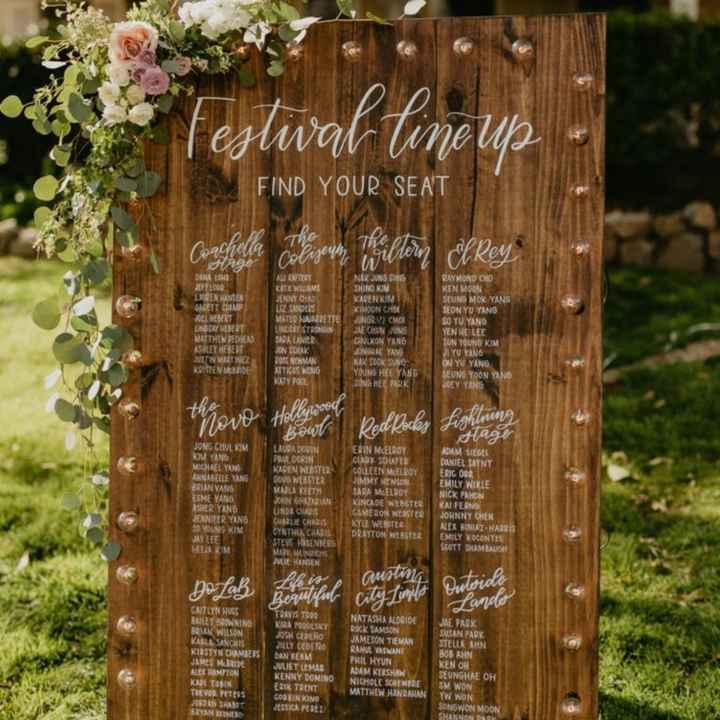 Convite de casamentos-festivais - 1