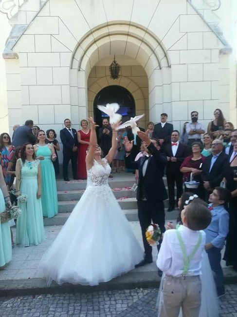 Casados e de coração cheio ❤️ 1