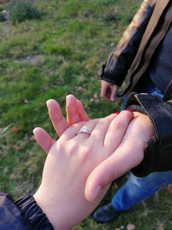 Anel de noivado 💍💒 - 1