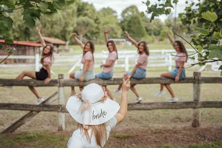 a noiva e as damas 👰❣️ - 2