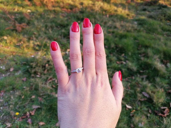 Boa noite :) Adorava ver os vossos anéis de noivado :) Quem quer partilhar? 1