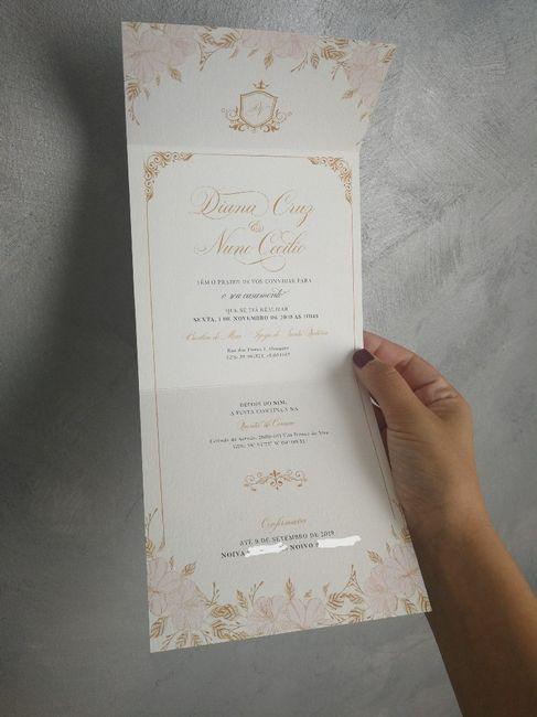 Convites finally!!💖🎉🎊 6