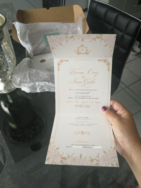 Convites finally!!💖🎉🎊 7