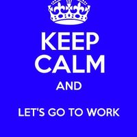let´s go to work