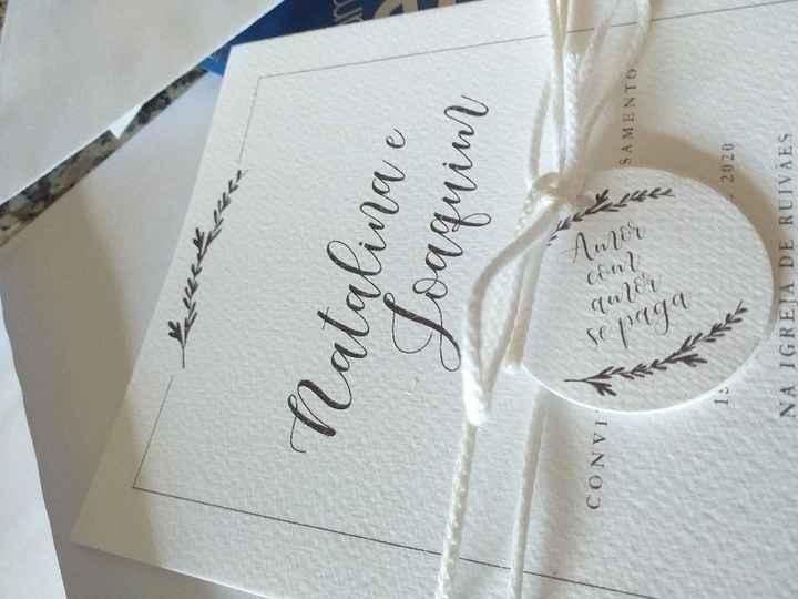 Convites de casamento - 2