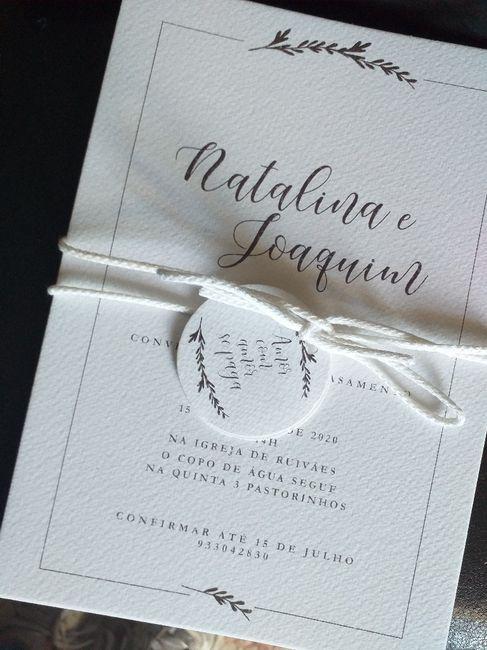 Convites de casamento - 1