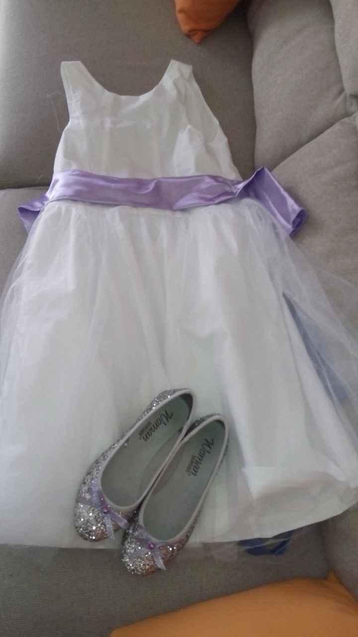 vestido + sapatinhos