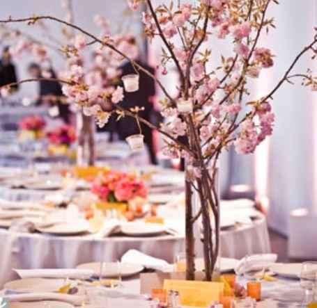 Inspirações : tema flor de cerejeira  - 11