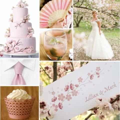 Inspirações : tema flor de cerejeira  - 12