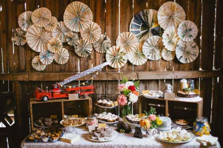 Inspiração ~ mesa dos doces