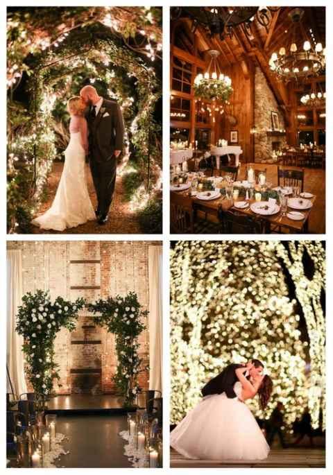 Casamento de Inverno- Iluminacao 😍 - 6