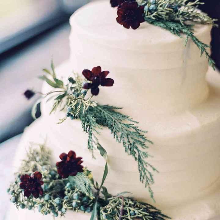 Casamentos de Inverno -  Bolos dos noivos 🤩 - 1