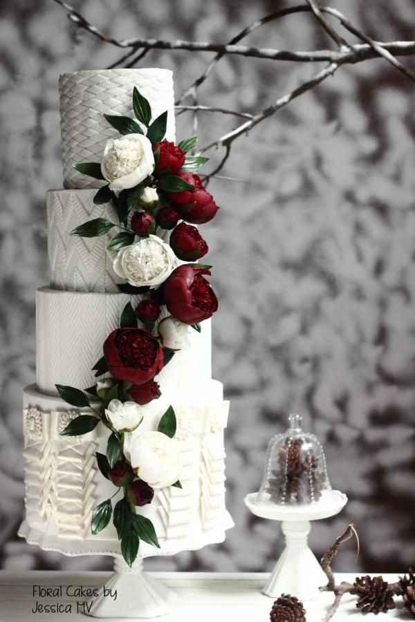 Casamentos de Inverno -  Bolos dos noivos 🤩 - 3