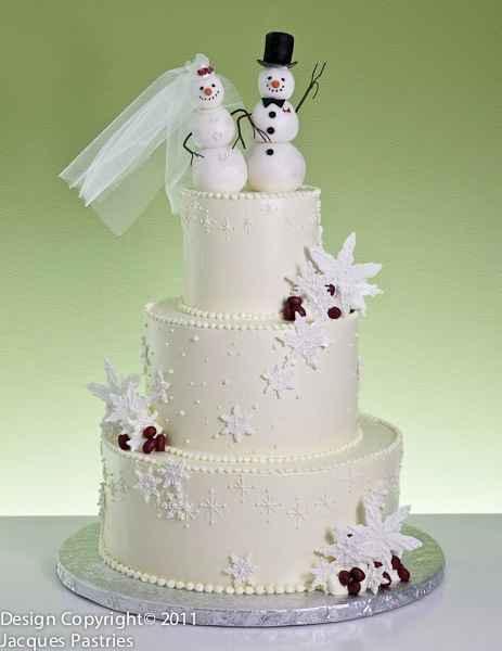 Casamentos de Inverno -  Bolos dos noivos 🤩 - 6