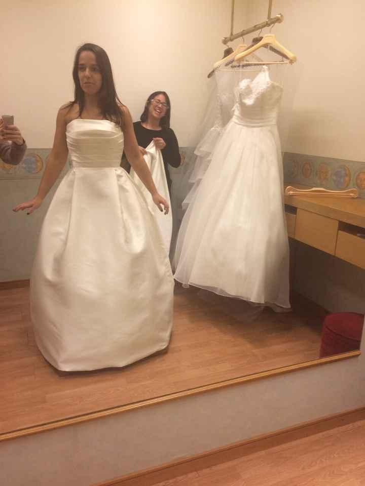 Caça ao vestido de noiva  - 1