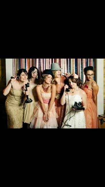 Acessórios photobooth e cadeira dos noivos - 1