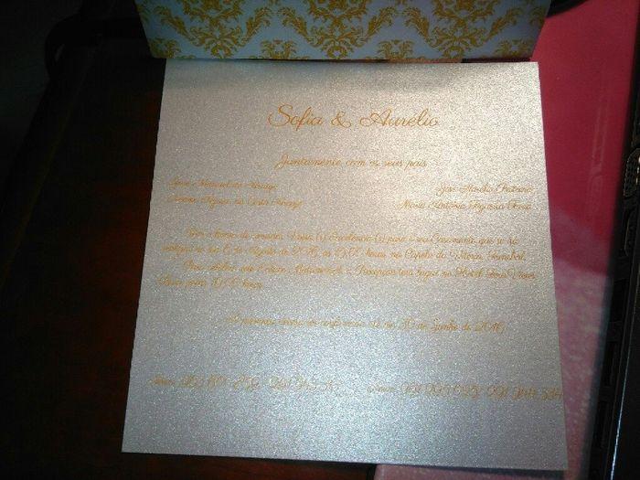 Os nossos convites - 2
