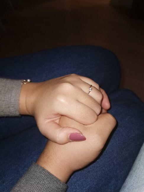 Boa noite :) Adorava ver os vossos anéis de noivado :) Quem quer partilhar? 16