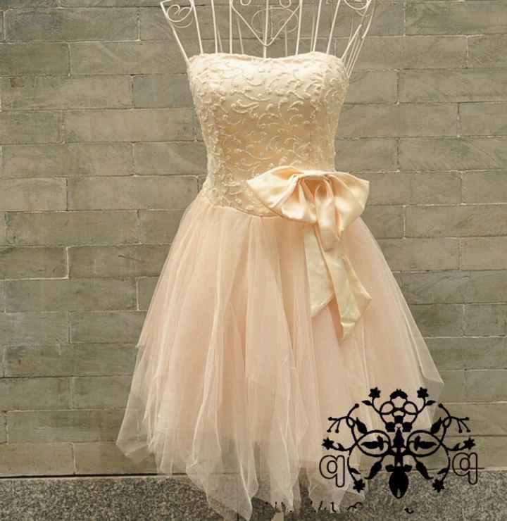 O meu vestido de 2°dia