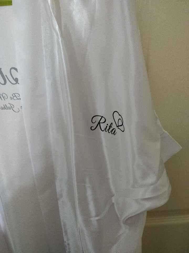 Chegaram os robes 😀 check ✔️ - 3