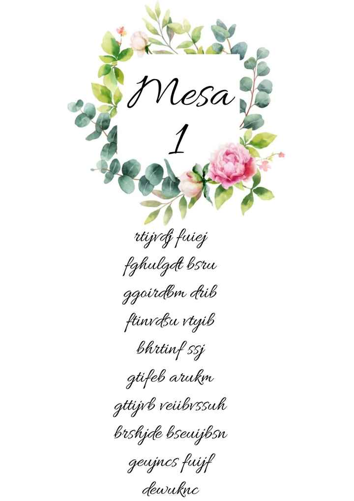 Placard mesas - 1