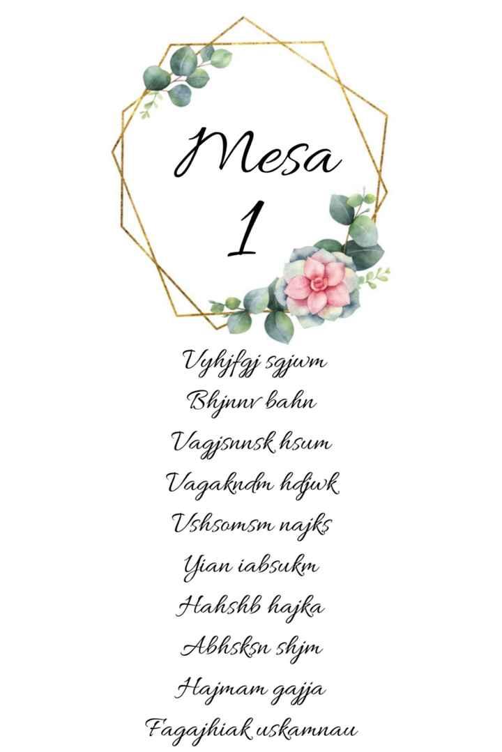 Placard mesas - 2