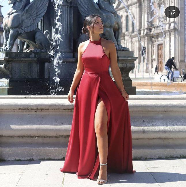 Vestido convidada 👗 1