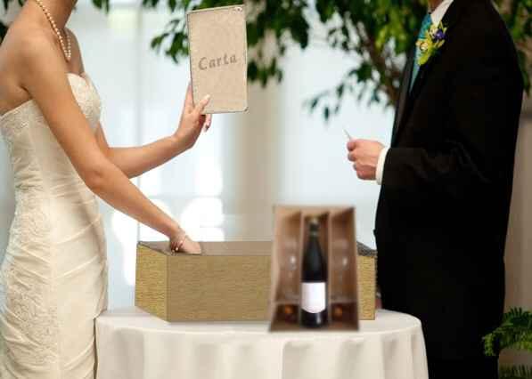 Ritual da carta e da caixa de vinho - 1