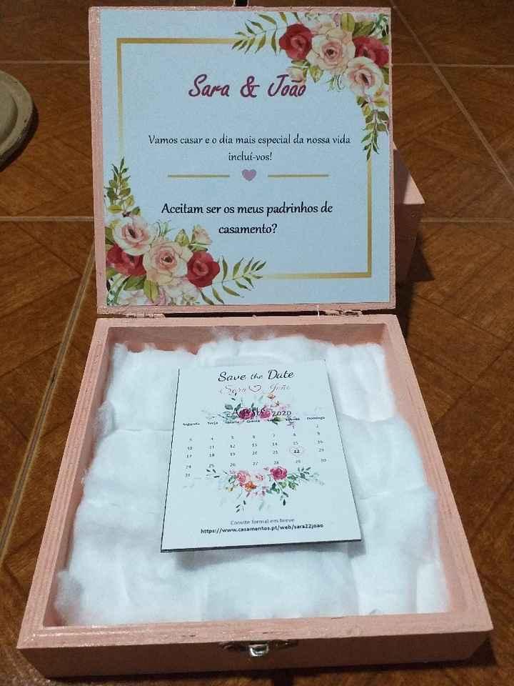 Convite padrinhos de casamento - 3