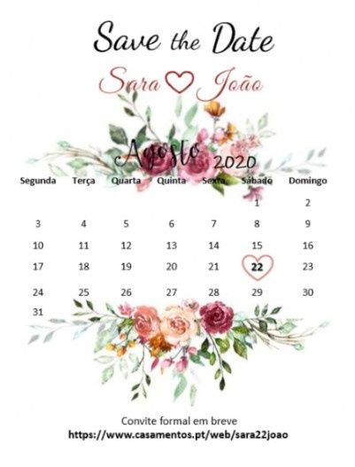 Save the Date - Check! 2