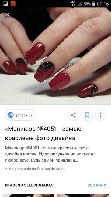 As unhas de noiva (inspirações ) 1