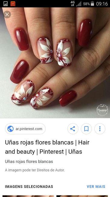 As unhas de noiva (inspirações ) 2