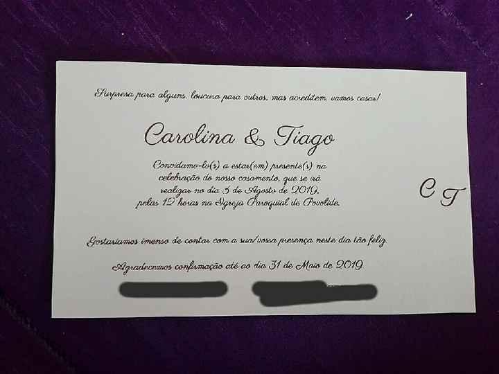 Entrega dos convites ✔ - 3