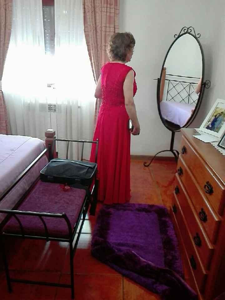 Vestido mãe da noiva ✔😍 - 3