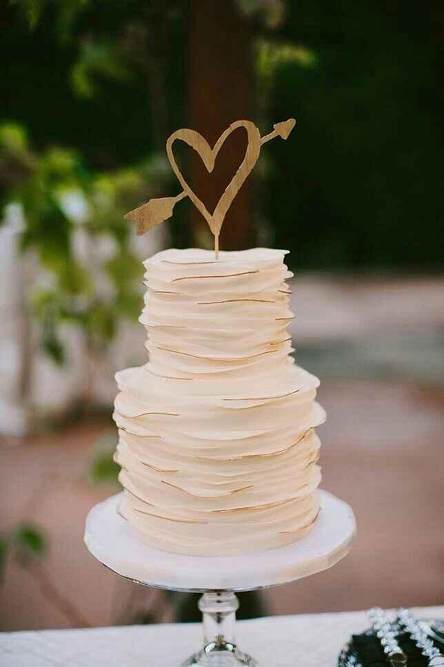 Inspirações para topo de bolo - 8