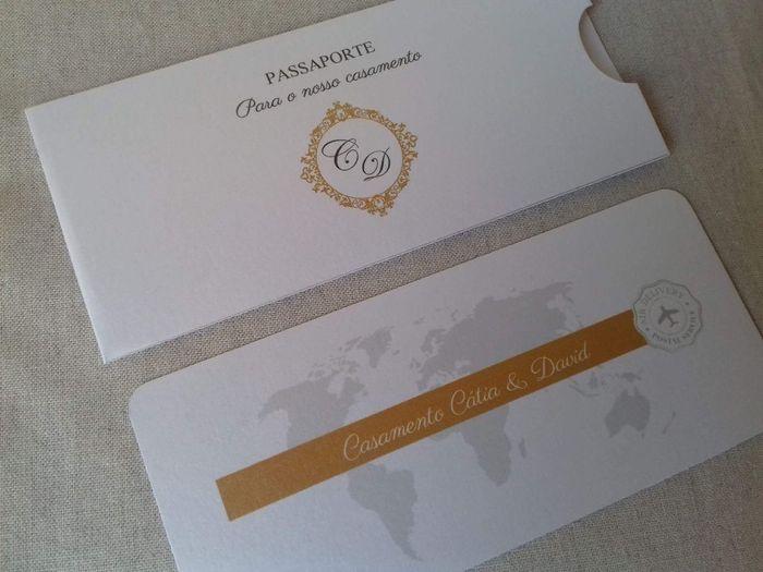 Convites - tema viagens - 1