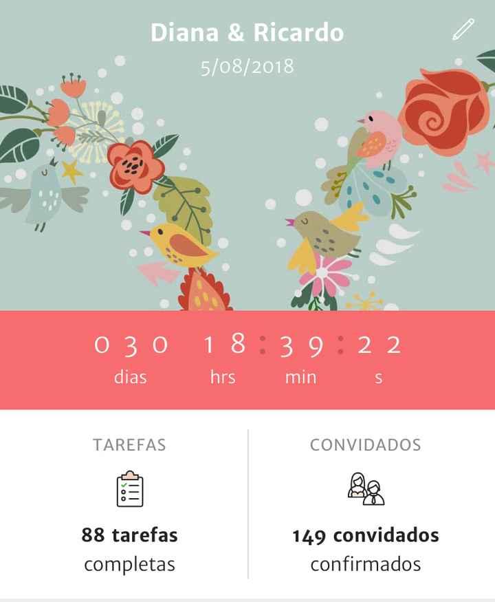 1 mês!!!! 😱❤️ - 1